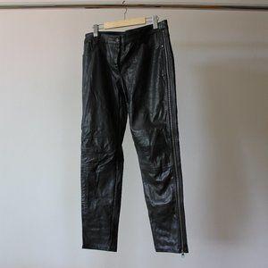 Sandra Angelozzi Faux Leather Pants